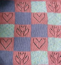 Block Baby Blanket Knitting Patterns | In the Loop Knitting