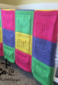 Block Baby Blanket Knitting Patterns | In the Loop Knitting