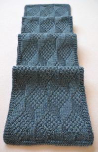 Reversible Scarf Knitting Patterns