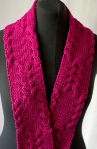 Reversible Scarf Knitting Patterns | In the Loop Knitting