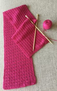 Reversible Knitting Stitches For Scarves