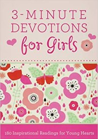 3 minute devotional for girls