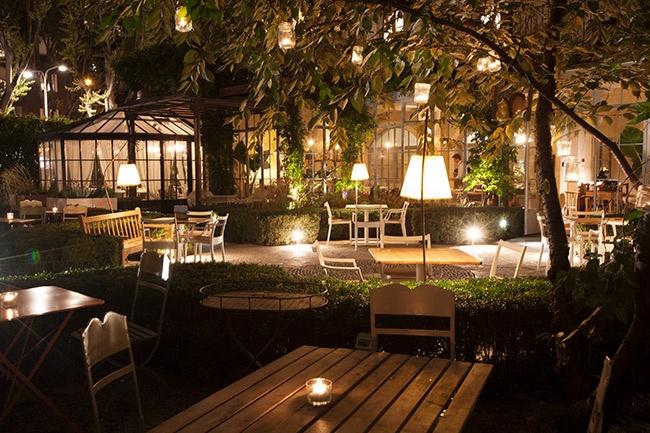 Al Fresco ristorante con giardino  In the mood for design