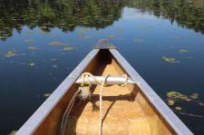 Kanu auf dem Frood Lake