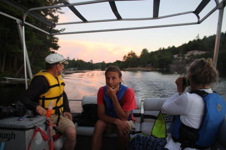 Murray Lake – Bootsausflug