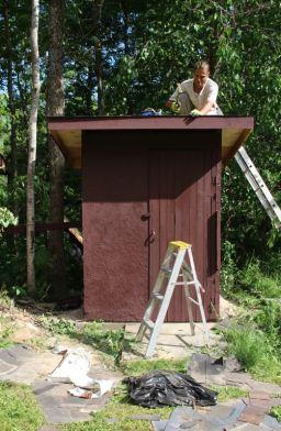 Widgawa Lodge – Martin arbeitet
