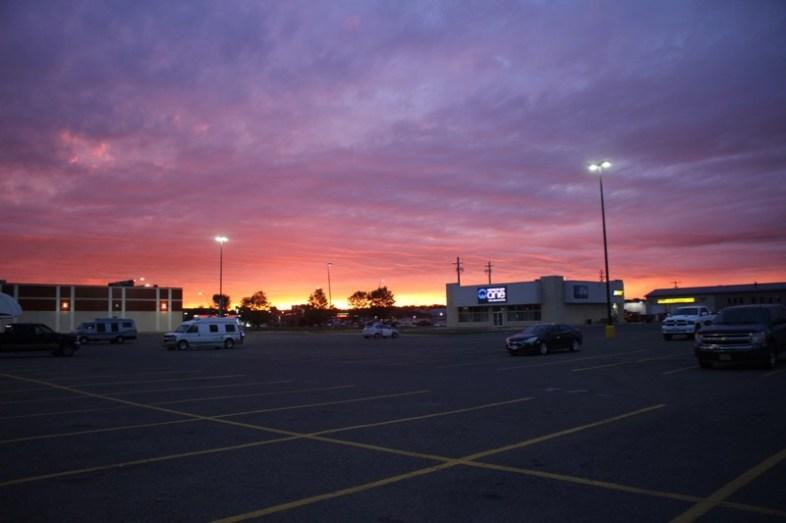 Walmart Sonnenuntergang