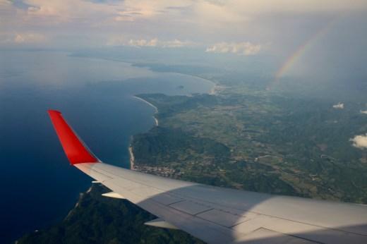 Im Anflug auf Puerto Vallarta