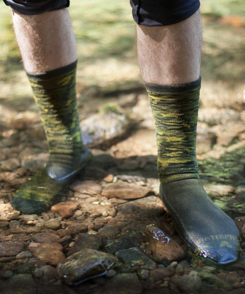 Wasserdichte Socken!