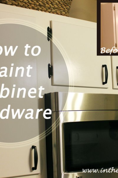 How to Update Cabinet Hardware