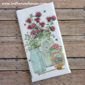 Charleston Market Flour Sack Tea Towel Giveaway