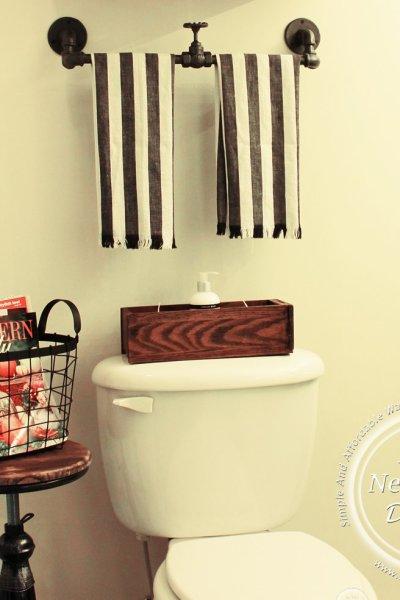 Industrial Farmhouse Bathroom Reveal