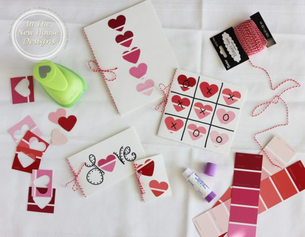 Paint Chip Valentine Craft Project