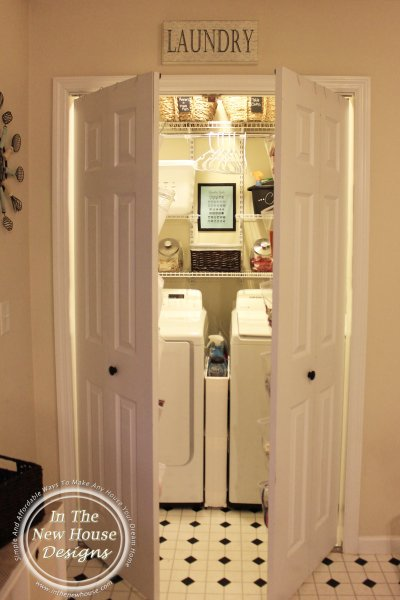 How To Organize A Small Laundry Closet