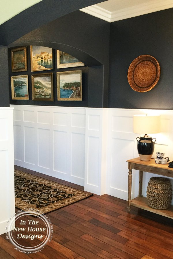 Architectural features like arches make this entryway extra inviting