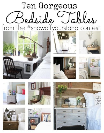 Bedside Table Contest Highlights