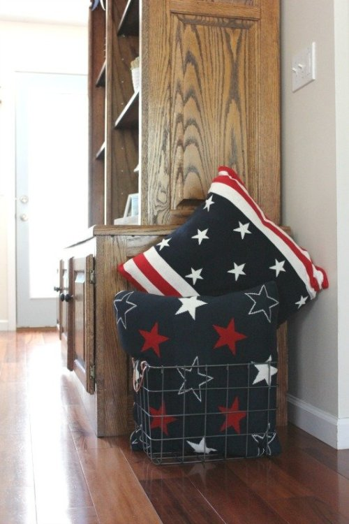 Patriotic Pillows from Home Goods