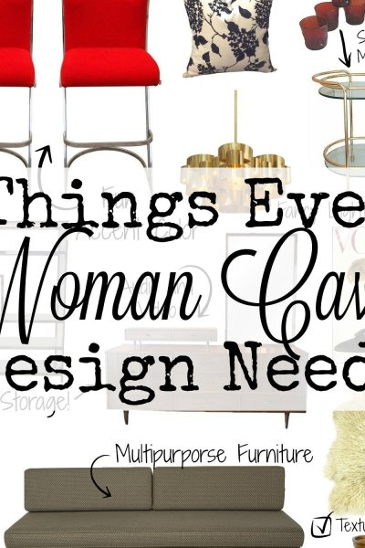 8 Things Every Woman Cave Design Needs