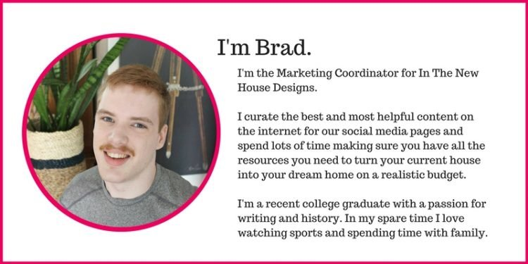 Meet Brad from In The New House Designs