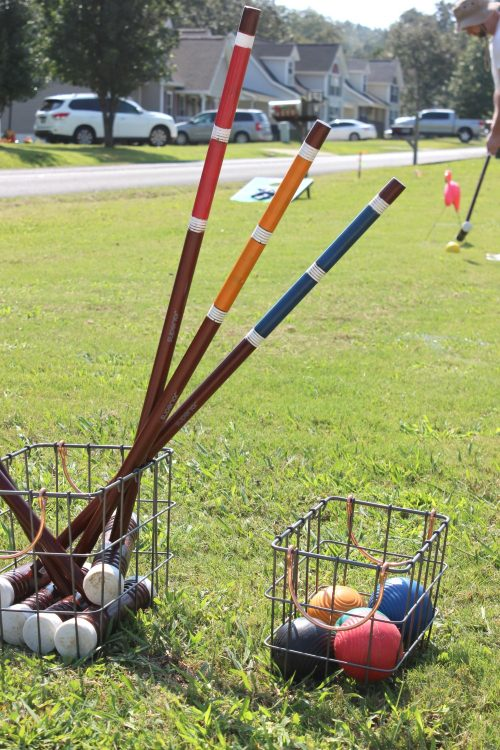 croquet is the perfect summer party game