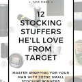 12 target stocking stuffers