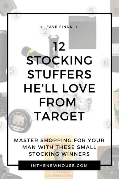 12 Stocking Stuffers For Him From Target