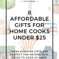 home kitchen gifts under $25
