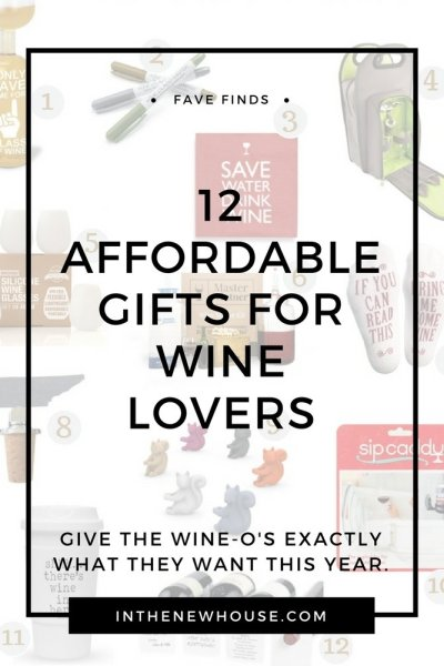 12 Affordable Gifts For Wine Lovers
