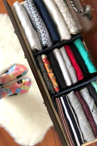 DIY Fabric Drawer Dividers
