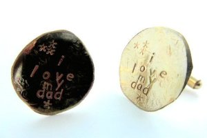 la jewellery father's day cufflinks