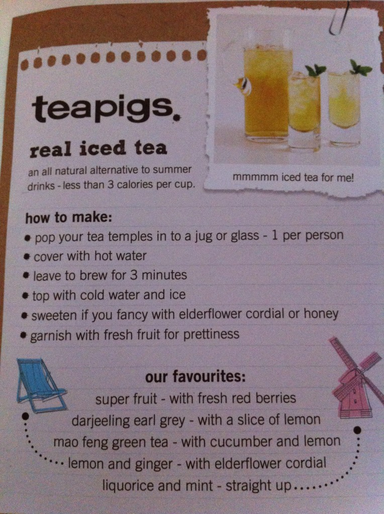 teapigs real iced tea recipe