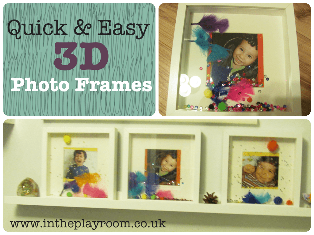 Simple 3D Photo Frames - In The Playroom