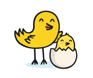 twinkl educational resources baby bird logo