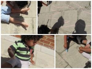 summer chalk activities