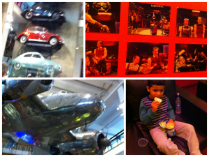 science museum collage