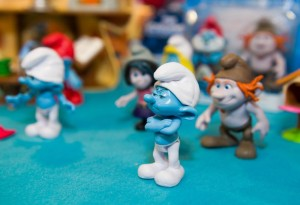 Mr Grumpy, Hackus and others - Smurfs 2
