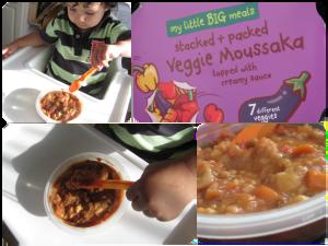 my little big meals veggie moussaka