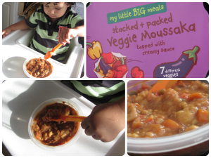 my little big meals veggie moussaka