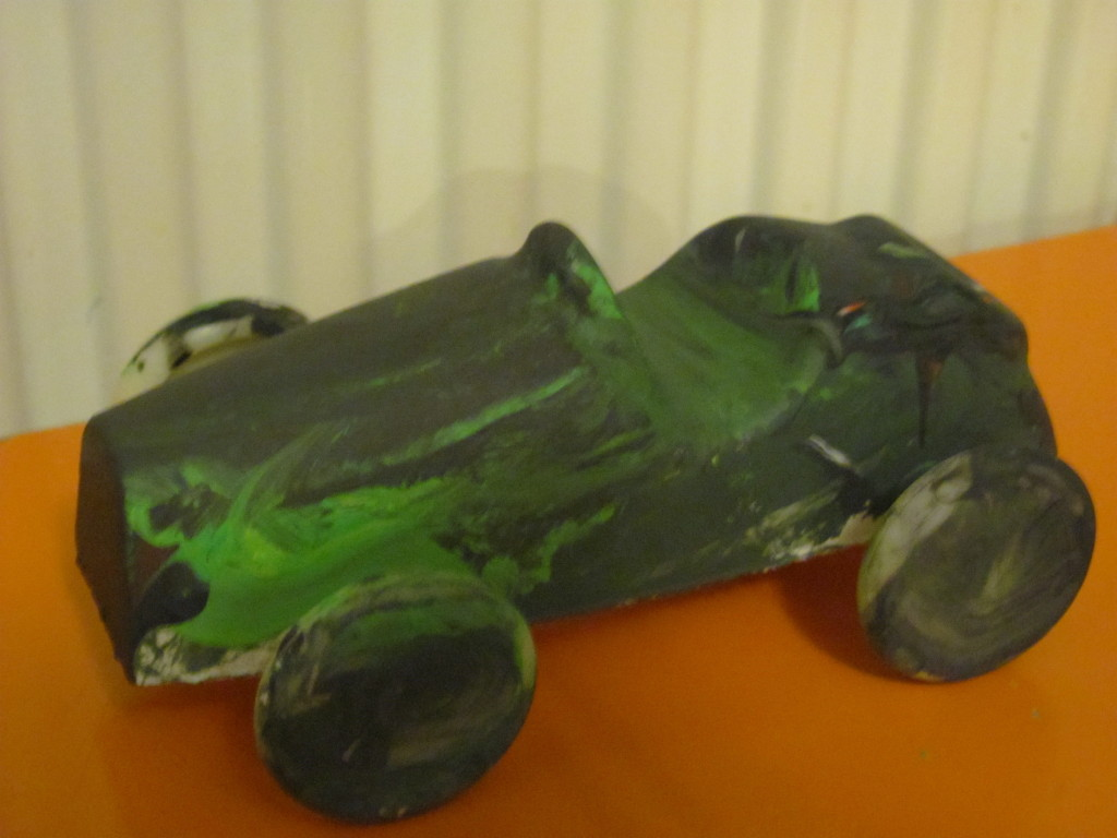 plaster of paris car