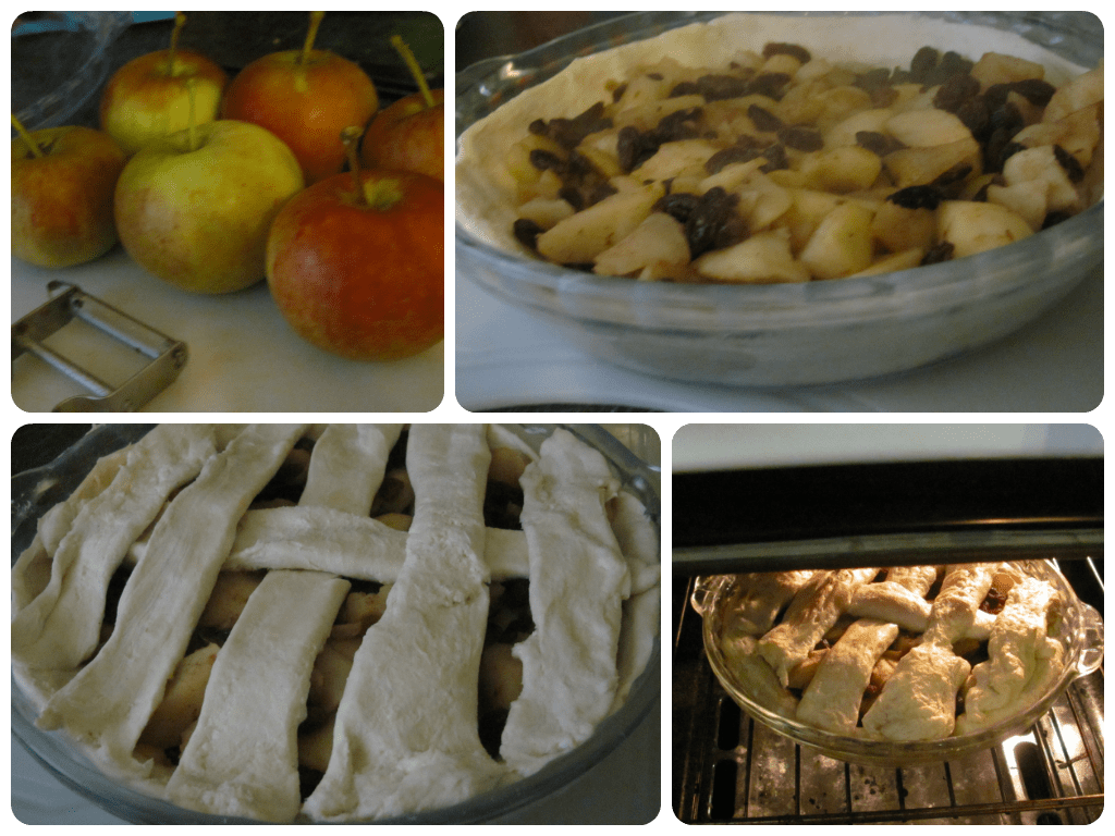 How to make a simple apple pie