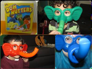 doh nutters elephant masks