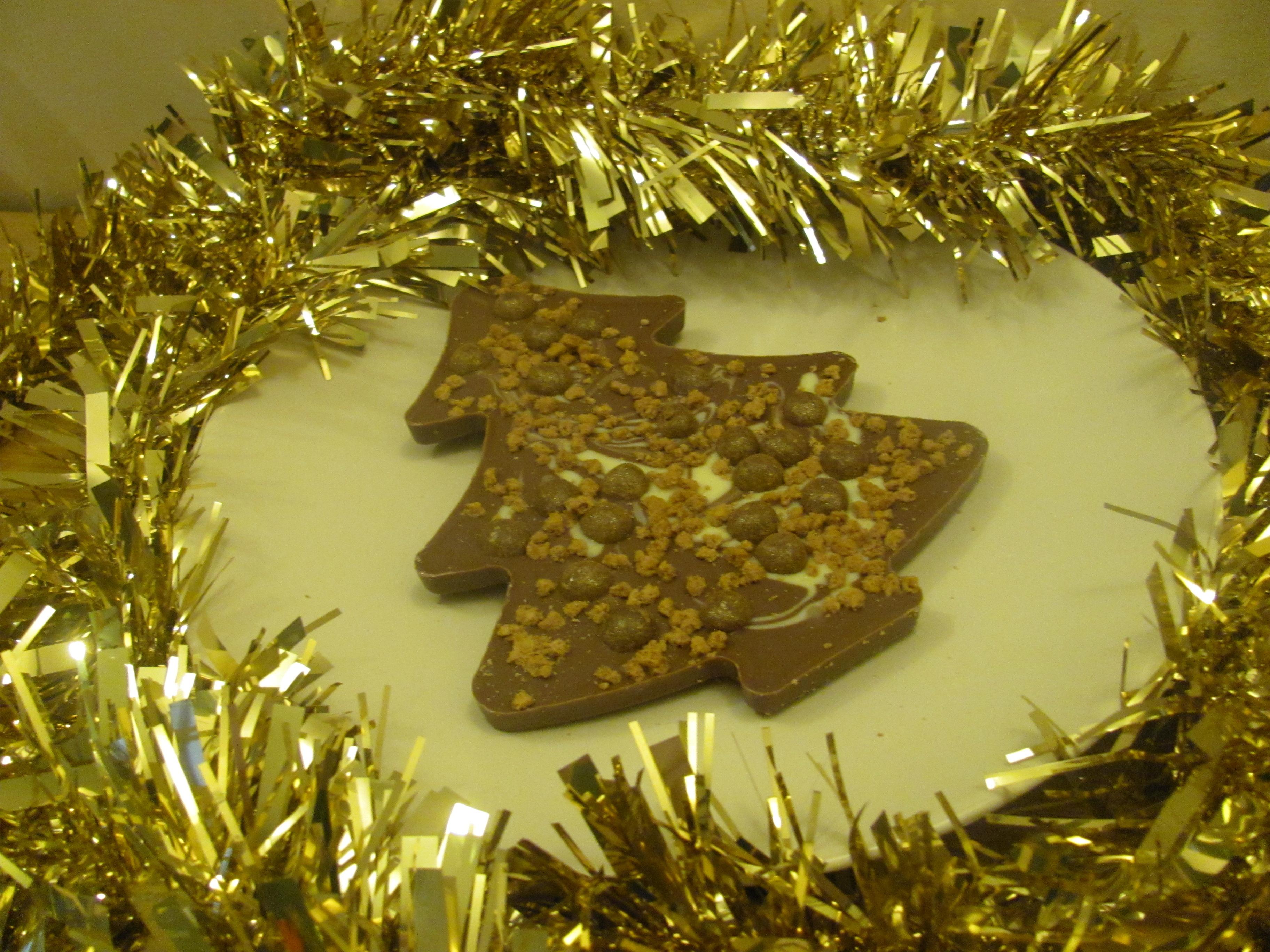 Tesco Christmas Chocolate