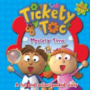mystery time tickety toc book