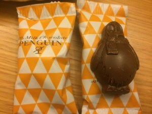 hotel chocolat penguin