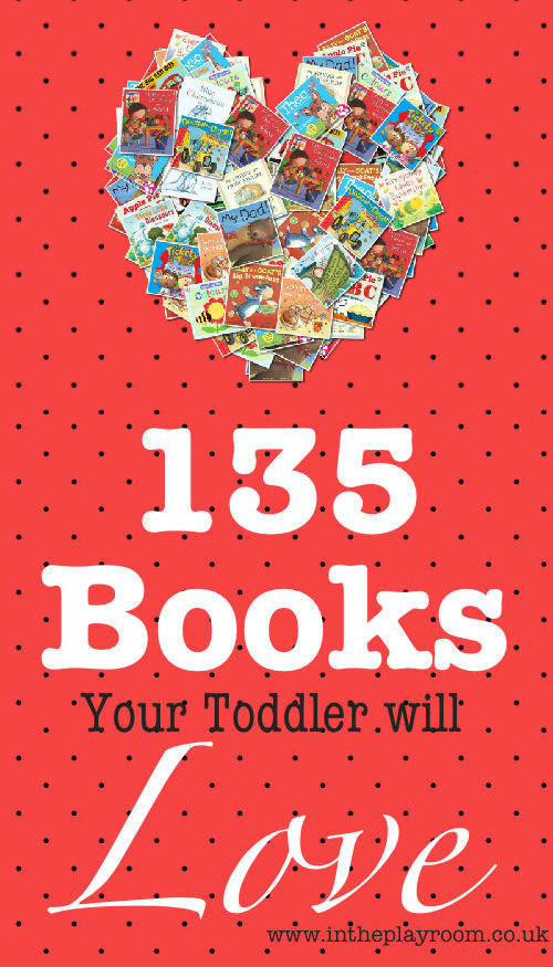135 Book Recommendations for Toddlers - In The Playroom
