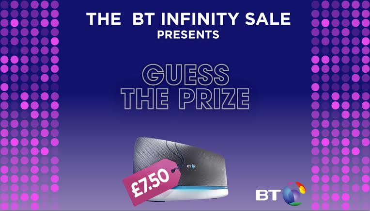 win on twitter with bt guess the prize