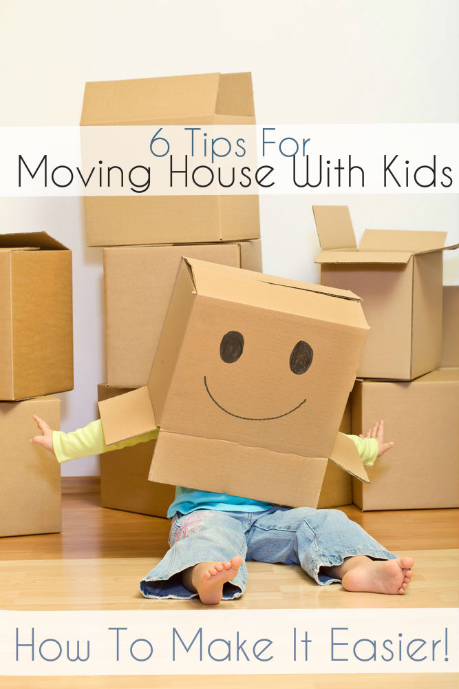 6 tips for moving house with kids - how to make things easier & keep them in their routine