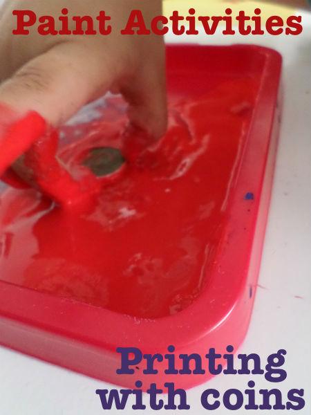 fine motor paint activities