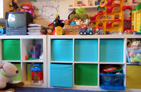playroom ideas and ikea storage