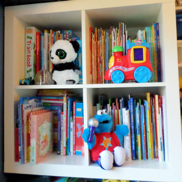 playroom idea ikea expedit storage bookcase